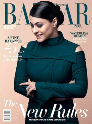 Kajol On The Cover Of Harper's Bazaar