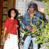 Jackie Shroff and Kiran Rao snapped post dinner at Village Shop