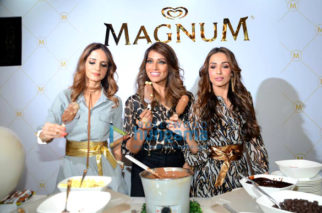 Malaika Arora, Bipasha Basu and Sussane Khan snapped at the Magnum event