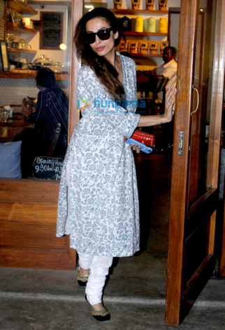 Malaika Arora Khan snapped at the Sequel