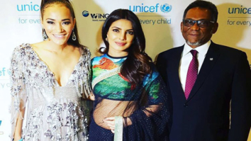 Priyanka Chopra wore a saree for UNICEF2