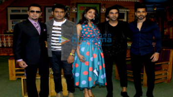 Promotions of the film 'Behen Hogi Teri' on sets the of The Kapil Sharma Show