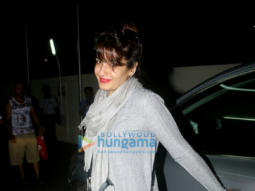 Raveena Tandon snapped with kids post movie at PVR