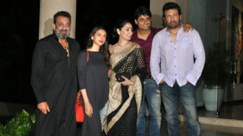 Sanjay Dutt, Aditi Rao Hydari & Others At 'Bhoomi' Film's Completion Party