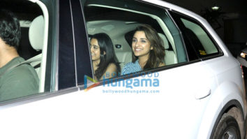 Parineeti Chopra and Ayushmann Khurrana host a special screening of their film 'Meri Pyaari Bindu'