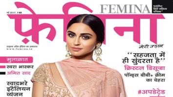 Swara Bhaskar On The Cover Of Femina