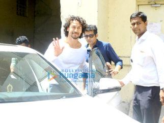 Tiger Shroff snapped at Filmistan