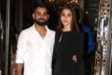 Virat Kohli & Anushka Sharma spotted together at Zaheer Khan & Sagarika Ghatge's engagement ceremony