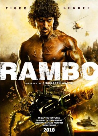 WOW! Here's presenting the first look of Tiger Shroff's Rambo