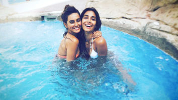 BIKINI BABES Shibani Dandekar and Monica Dogra look HOT as they relax by the pool1