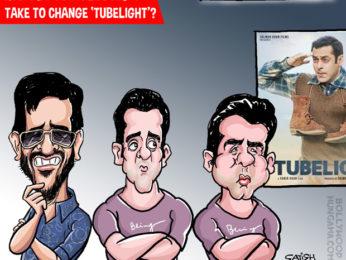 Bollywood Toons Salman Khan's Tubelight dimming!1