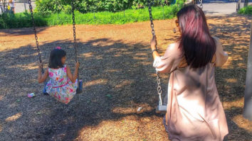 Check out Mommy-daughter Aishwarya Rai Bachchan and Aaradhya enjoy swinging in the park