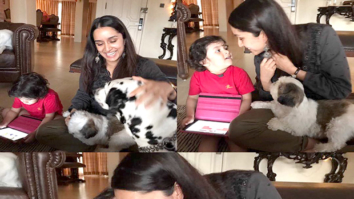 Check out Shraddha Kapoor spends her Sunday with Mohit Suri's daughter and dogs and it's adorable