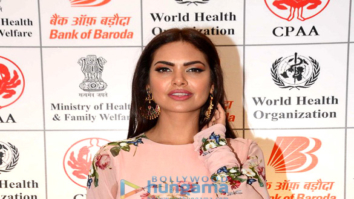 Esha Gupta, Salim Merchant and Sulaiman Merchant grace the 'No Tabacco Day' event