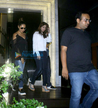 Gauri Khan, Shweta Nanda and others snapped at the launch of a restaurant in Bandra