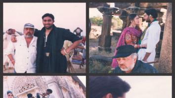 JP Dutta's daughter shares behind the scenes photos from Abhishek Bachchan and Kareena Kapoor Khan's debut film Refugee
