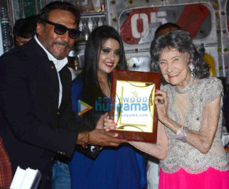 Jackie Shroff and other celebs grace the felicitation of Ms Tao Porchon as World's Oldest Ballroom Dancer by World Book of Records