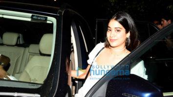 Jhanvi Kapoor and Khushi Kapoor snapped post dinner at Olive in Bandra