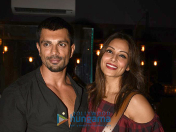 Karan Singh Grover and Bipasha Basu snapped post their dinner at I Think Café