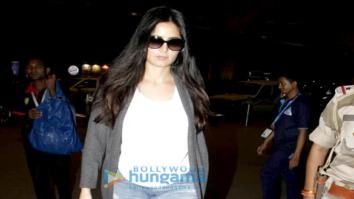 Katrina Kaif snapped leaving to shoot for 'Thugs Of Hindustan' in Malta