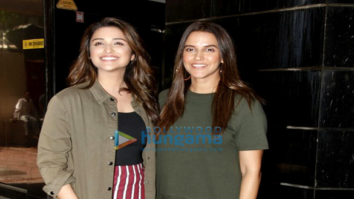 Parineeti Chopra and Neha Dhupia shoot for the 'No Filter Neha' show
