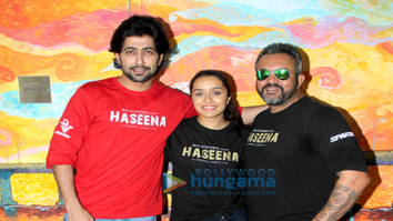 'Team Haseena Parkar' at the Facebook office Mumbai