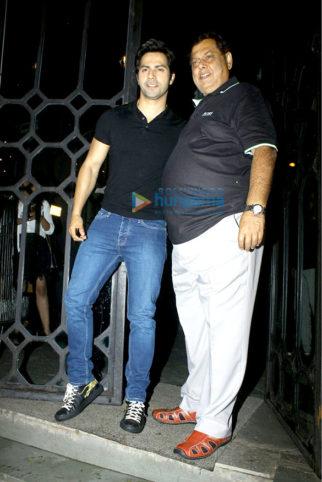 Varun Dhawan, Jaya Bachchan and others snapped at The Korner House