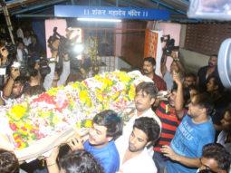 Actor Inder Kumar's last rites