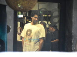 Aditya Roy Kapur snapped at Hakim Aalim's salon in Bandra