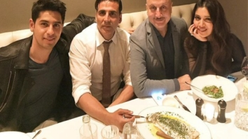 Brothers Reunite Akshay Kumar along with Toilet cast Bhumi Pednekar and Anupam Kher reunites with Sidharth Malhotra in London