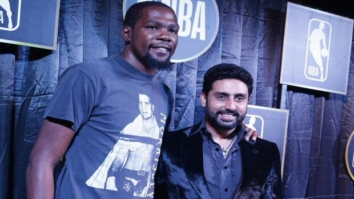 Check out Abhishek Bachchan meets NBA player Kevin Durant