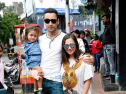Imran Khan snapped with his lovely family post their lunch at Bastian