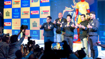 Kamal Haasan graces the launch of Sachin Tendulkar's Pro Kabbadi league team Tamil Thalaivas