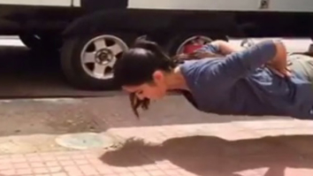 OMG! Katrina Kaif does push ups without s!