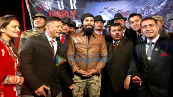 Randeep Hooda visits Kargil to interact with soldiers of Indian Army