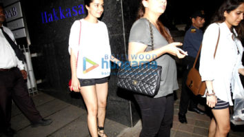 Shraddha Kapoor snapped with friends at Hakassan
