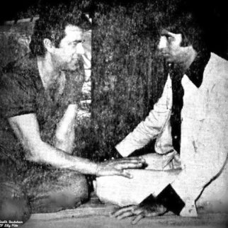 Throwback Amitabh Bachchan shared an image of Dharmendra and himself on sets of Sholay