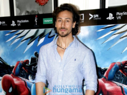 Tiger Shroff graces 'Spider-Man Homecoming' screening in Bandra