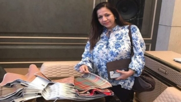 Varun Dhawan's mother Lally picks up items for Varun's bachelor pad from Gauri Khan's store