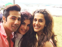 Varun Dhawan, Taapsee Pannu and Jacqueline Fernandez enjoying beautiful Mauritius