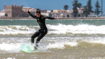 WOW! Katrina Kaif shows how to surf in style