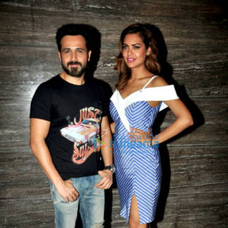 Baadshaho media meet with the cast in Mumbai