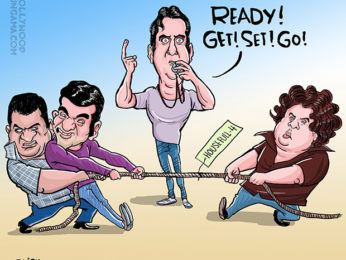 Bollywood Toons Sajid-Farhad split and Housefull4!