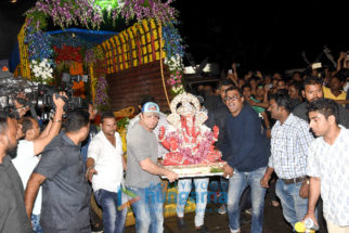 Bollywood stars at Salman Khan's Ganesh visarjan
