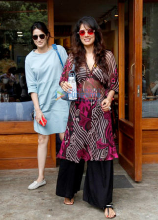 Chak De India Reunion: Sagarika Ghatge and Vidya Malavade snapped at Sequel