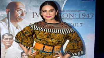 Huma Qureshi promotes 'Partition: 1947' at Poddar college fest