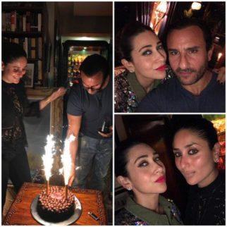 Kareena Kapoor Khan, Karisma Kapoor, Sara Ali Khan, Ibrahim and Soha Ali Khan celebrate Saif Ali Khan's birthday!1