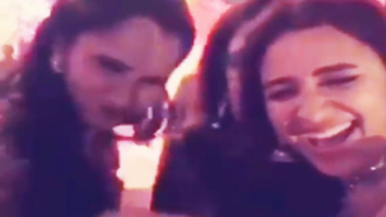 Parineeti Chopra shares this fun throwback video from Sania Mirza's sister's wedding