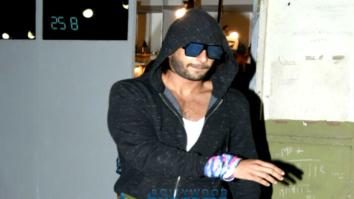 Ranveer Singh snapped post salon session in Bandra