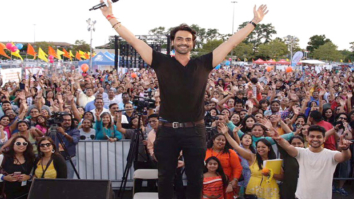WOW Arjun Rampal promotes Daddy in a Ganpati pandal in New York